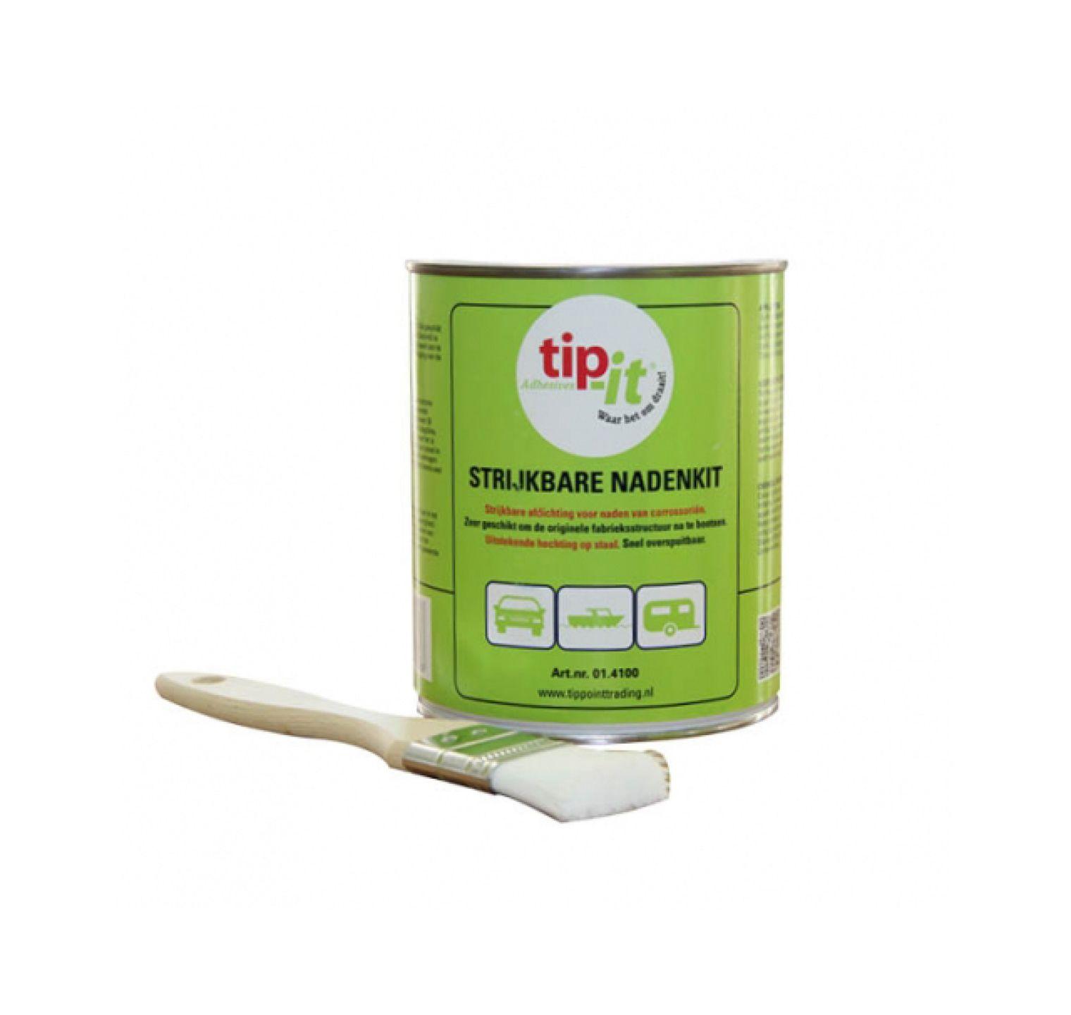 Tip-it Strijkbare Nadenkit 1l+kwast
