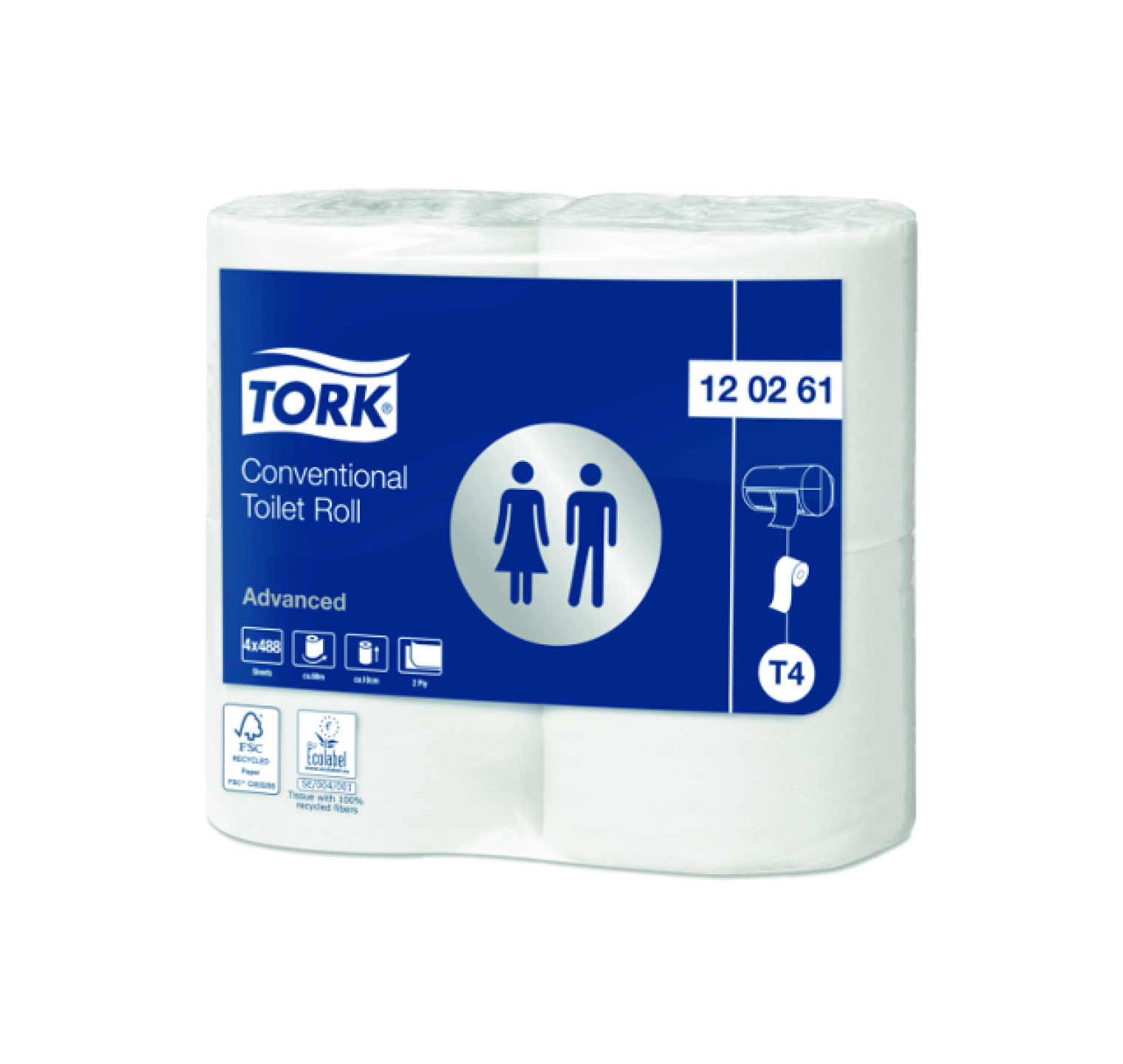 Tork Advanced Extra Long 2-laags
