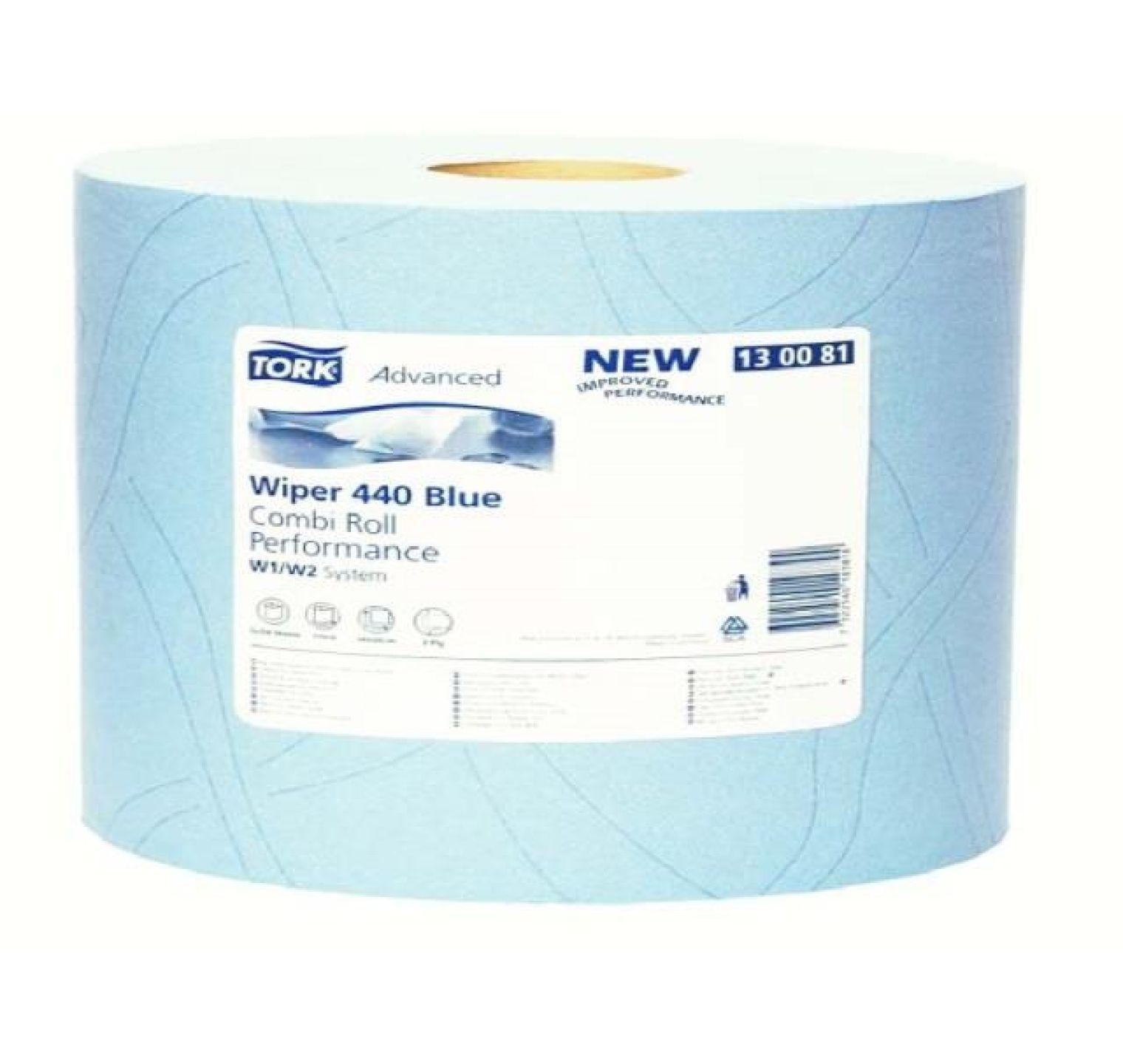 Tork Advanced Wiper 440 Blue Perfor